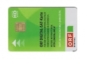 ,ORF 1 ORF 2,ORF HD- Pay-TV Karte - Abo card �sterreich TV, HDTV